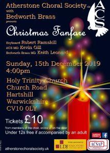 Christmas Concert 2019 - Atherstone Choral Society and Bedworth Brass Band @ HolyTrinity Church | Hartshill | England | United Kingdom