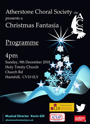 Christmas Fantasia @ Holy Trinity Church, Hartshill | Hartshill | England | United Kingdom